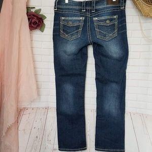 BKE Crop Addison Dark Wash Jeans